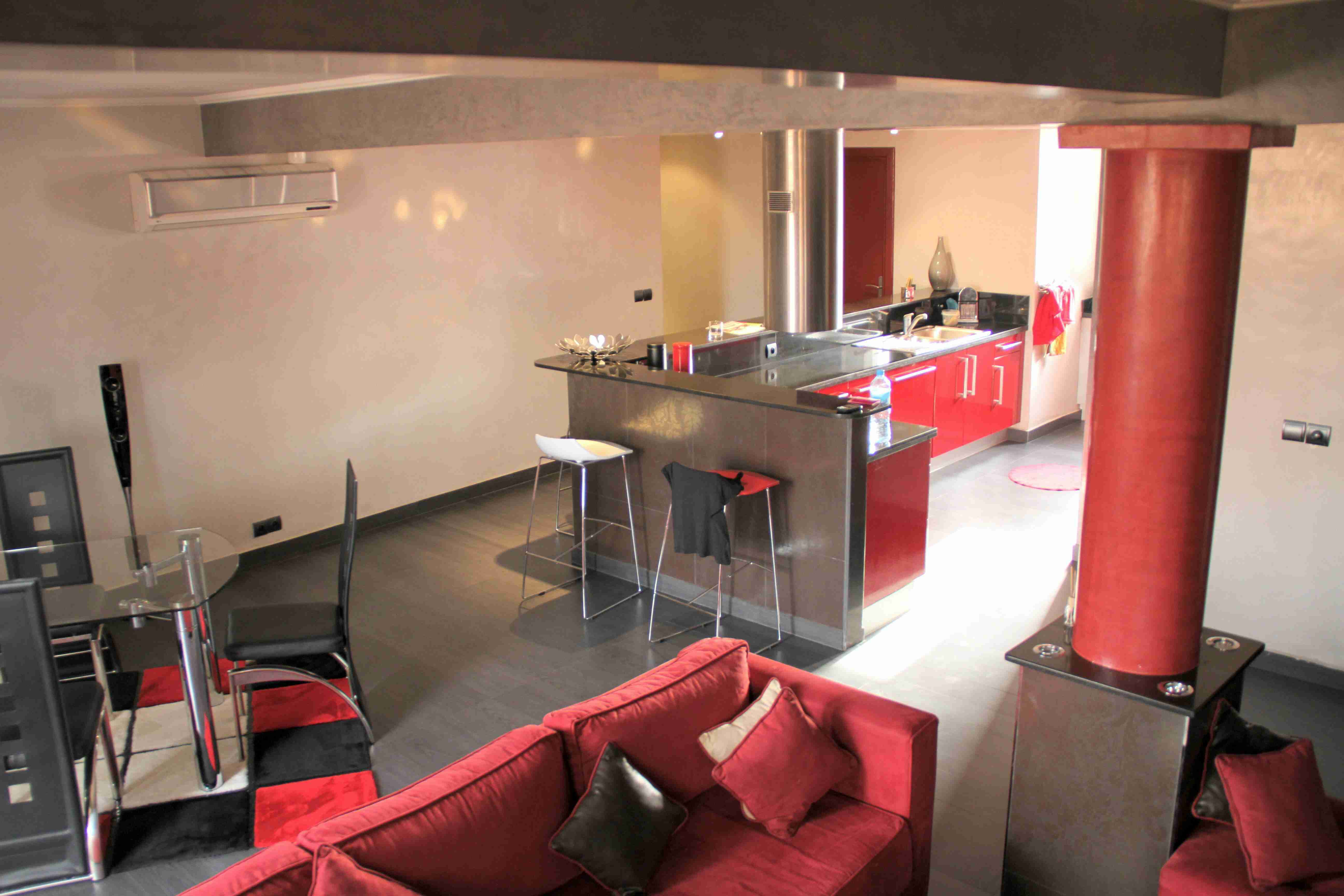 Alghazi invest for Decoration appartement contemporain