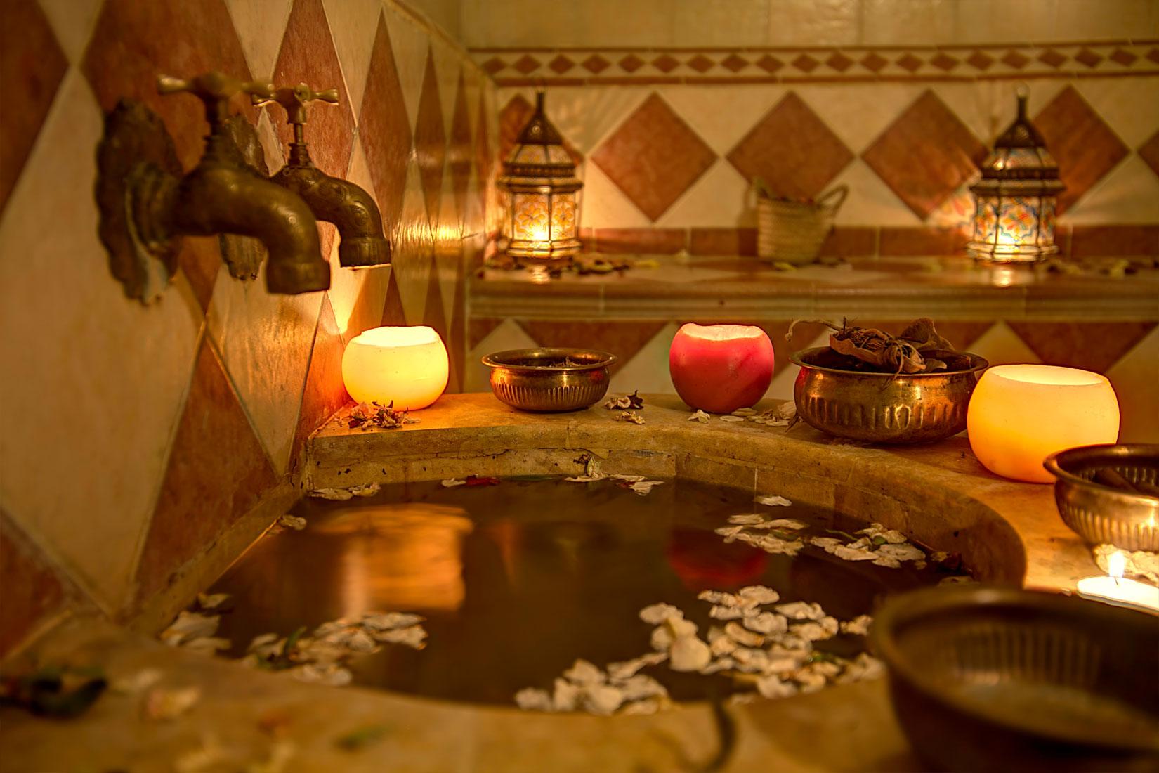 Bien tre h tel amani - Salle de bain avec hammam ...