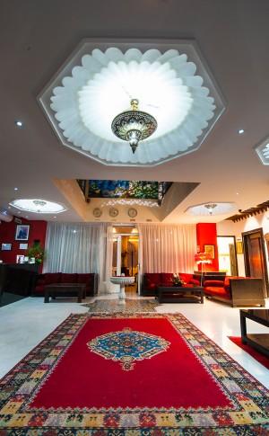 L'hotel vous prèsente l'artisanat marocain dans toute sa splendeur