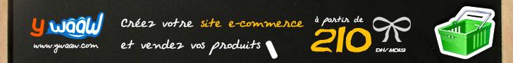 Ywaaw, créez votre site e-commerce rapidement, et vendez vos produits tout simplement